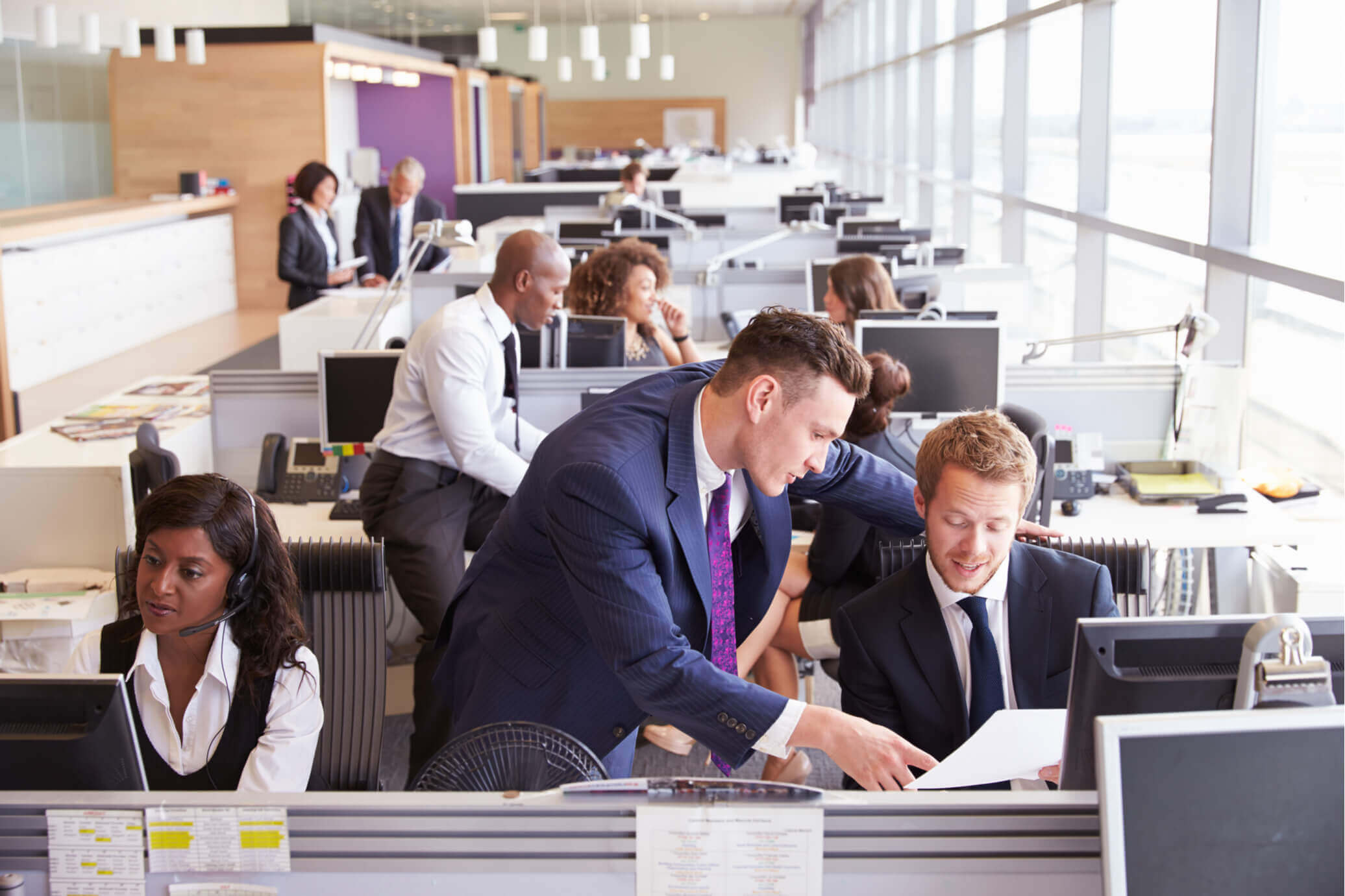 open office floor plan pros and cons