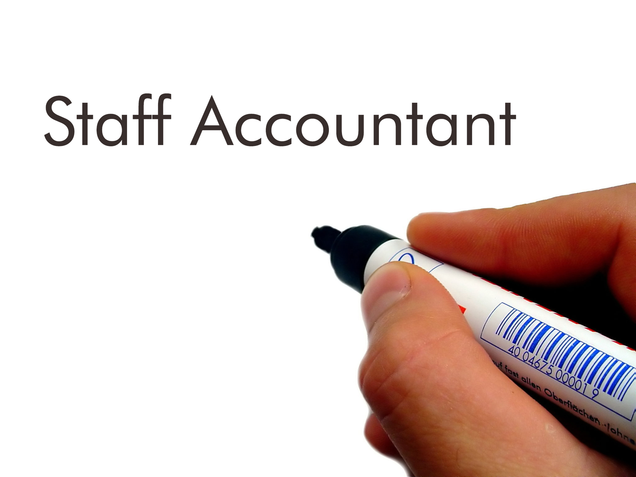 staff accountant The staff accountant will report to the senior accountant located in london he/she will be part of a high-performing team and will be expected to lead, take ownership of his/her areas of responsibility.