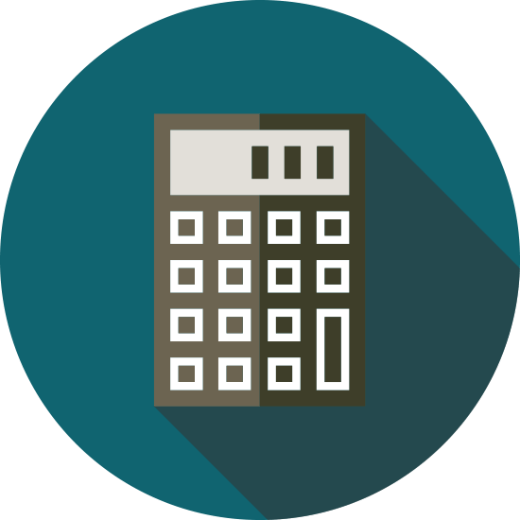 A calculator icon