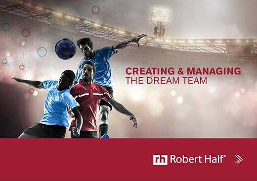 The cover of Creating & Managing the Dream Team from Robert Half