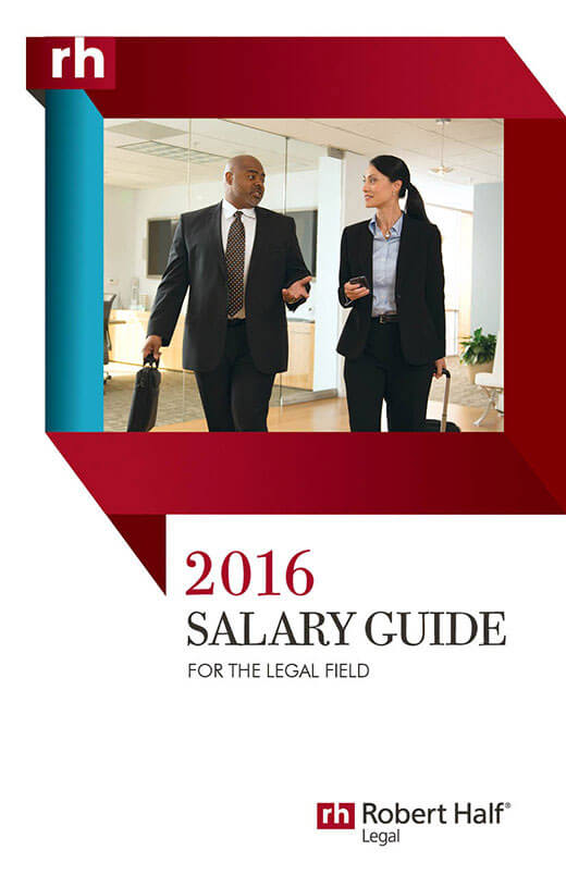 2016 Legal Salary Guide