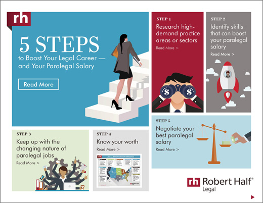 5 Steps to Boost Your Career and Your Paralegal Salary eBook