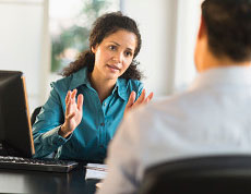 A Robert Half technology staffing professional explains how she can help a client