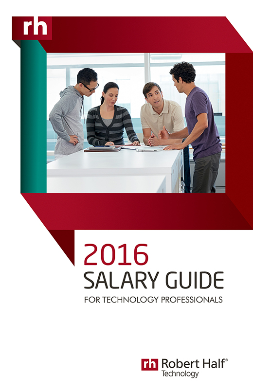 2016 technology salary guide