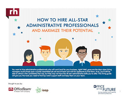 How to Hire All-Star Administrative Professionals and Maximize their Potential Thumbnail