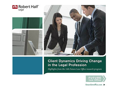 Client Dynamics Driving Change in the Legal Profession Thumbnail