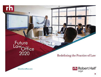 Future Law Office 2020: Redefining the Practice of Law Thumbnail