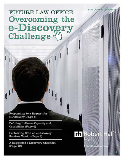 Overcoming the eDiscovery Challenge Thumbnail