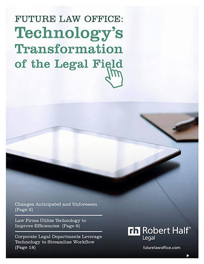 Technology's Transformation of the Legal Field Thumbnail