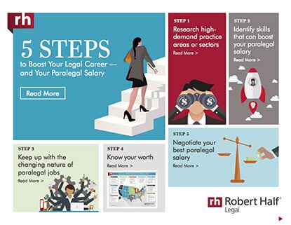 5 Steps to Boost Your Career and Your Paralegal Salary Thumbnail
