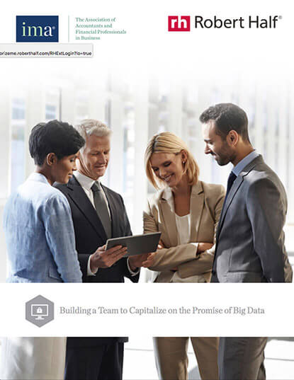Building a Team to Capitalize on the Promise of Big Data