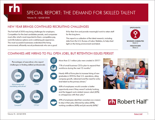 Special Report: The Demand For Skilled Talent