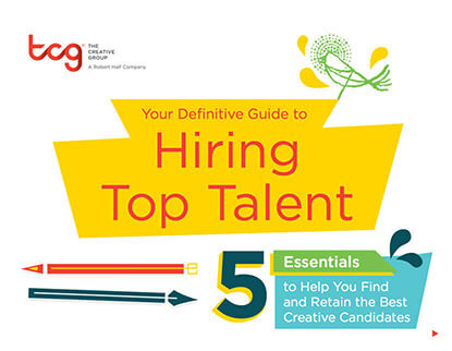 Your Definitive Guide to Hiring Top Creative Talent Thumbnail