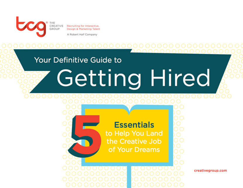 5 Essentials to help you land the creative job of your dreams Thumbnail