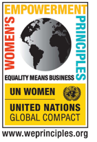 UN Global Compact and UN Women logo