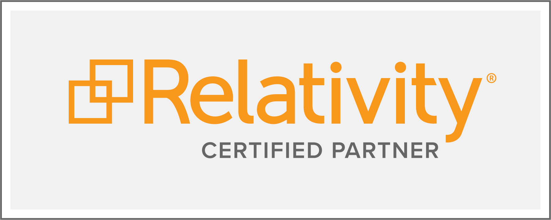Relativity Certified Partner