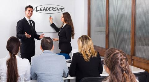 Managing millennials by offering leadership training