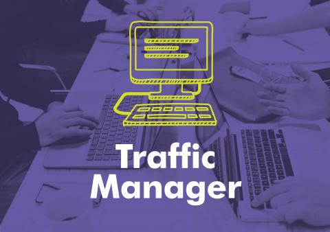 Typographic image reading traffic manager.