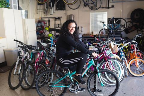 How a Robert Half Employee Became Known as the 'Bike Fairy'
