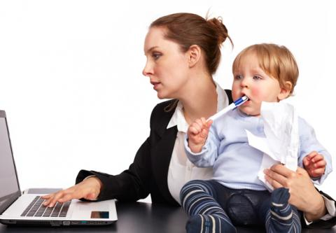 Working moms and dads