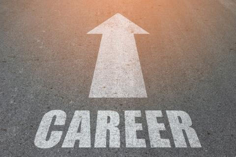 Road that shows arrive and career path to CPA