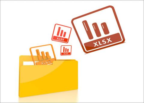 Folder with xlsx files for accountants using Office 2016