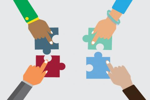 Puzzle pieces to make a perfect fit in hiring