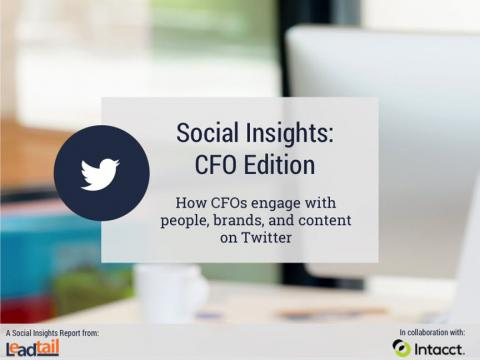 Social Insights: CFO Edition, Leadtail