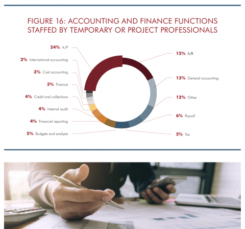 Accounting and Finance Functions Staffed By Temporary and Project Professionals