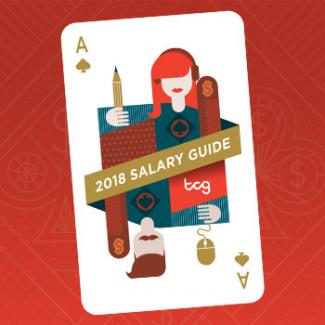 2018 Creative Salary Guide page