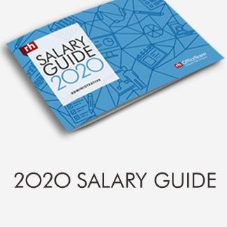 Robert Half Salary guide 2020 Administrative