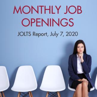 May JOLTS Report: Job Openings at 5.4 Millio